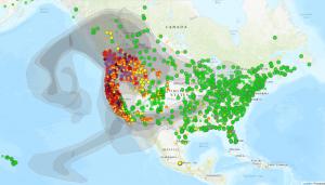 AirNow Fire Map