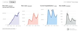 COVID Tracking Statistics