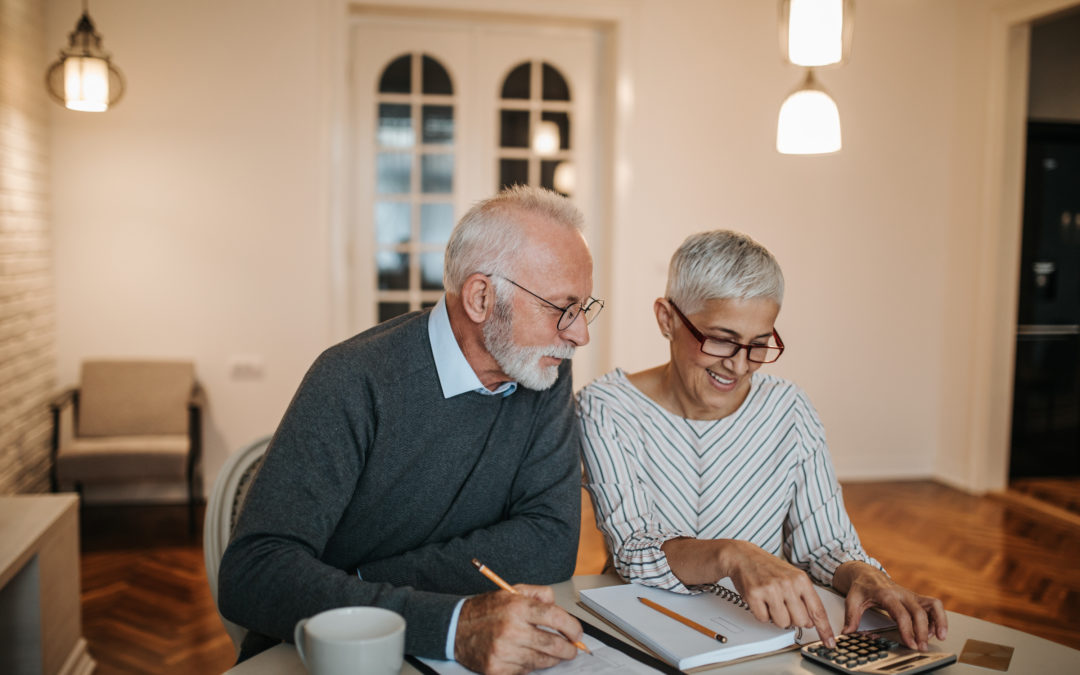 Retired couple income annuity